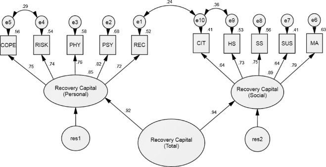 Recovery Capital Pathways Modelling The Components Of Recovery