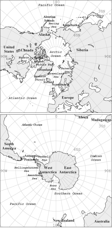 A Review Of The Temporal And Spatial Variability Of Arctic And