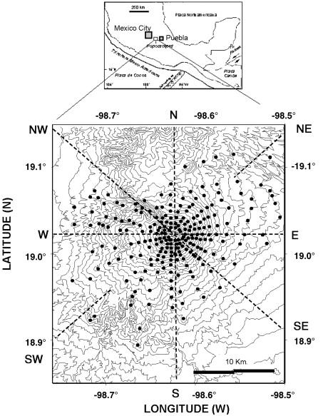 A Numerical Model For The Mechanical Behavior Of Popocatpetl