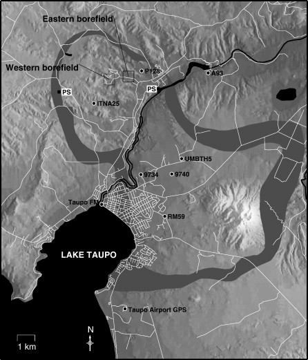 Subsidence in the geothermal fields of the Taupo Volcanic