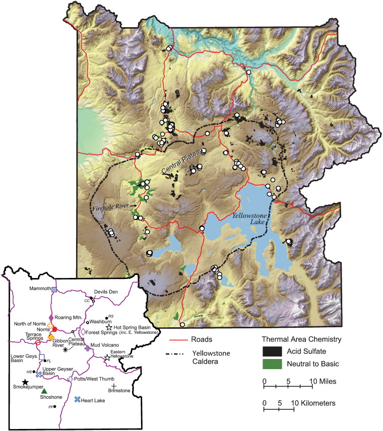 Origins of geothermal gases at Yellowstone - ScienceDirect