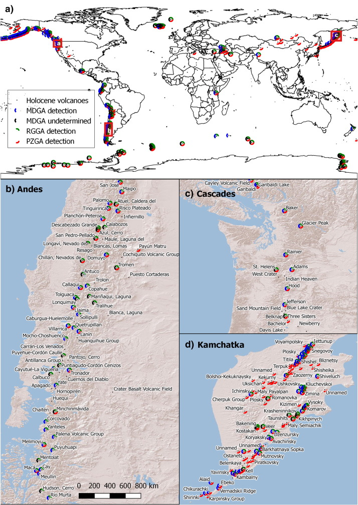 Methods for mapping and monitoring global glaciovolcanism