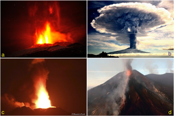 Monitoring The December 2015 Summit Eruptions Of Mt Etna Italy