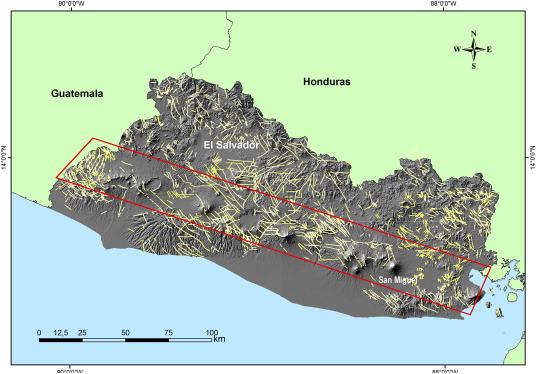 Spatio-temporal hazard estimation in San Miguel volcano, El