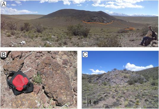 Radiometrisk dating vulkansk rock