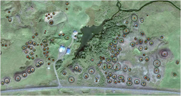 Linking lava flow morphology, water availability and