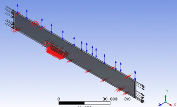Numerical simulation of the performance of a snow fence with airfoil dimensions of the entire domain the total length is 100 m 30 m from the inlet to the snow fence plus 70 m from the snow fence to outlet publicscrutiny Image collections