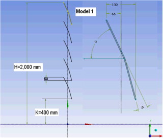 Numerical simulation of the performance of a snow fence with airfoil basic three dimensional model of the snow fence model 1 publicscrutiny Image collections