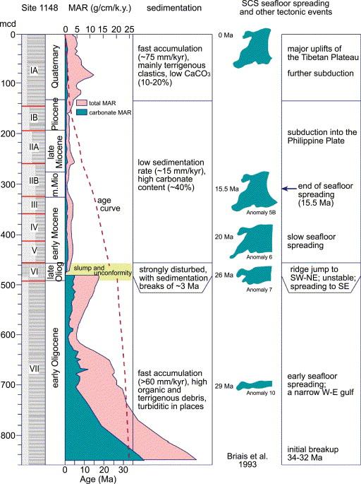 Late Oligocene rapid transformations in the South China Sea