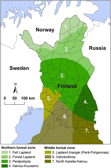 Relations Between Forestry And Reindeer Husbandry In Northern