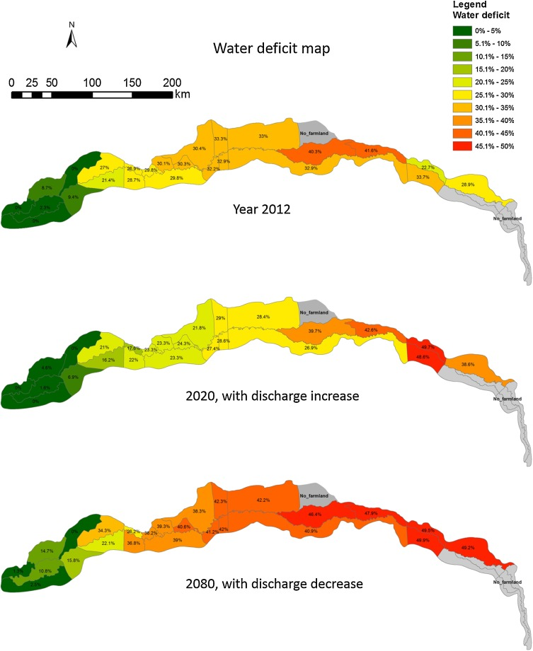 Agricultural water allocation strategies along the oasis of Tarim ...
