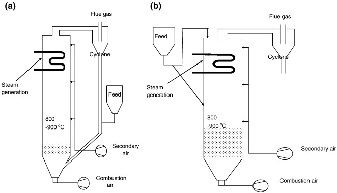 Biomass combustion in fluidized bed boilers: Potential