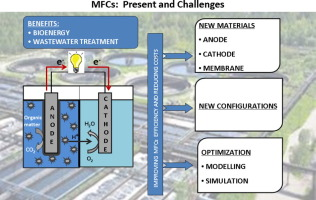 Recent progress and perspectives in microbial fuel cells for