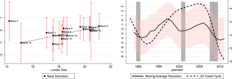 What drives discretion in bank lending? Some evidence and a link to