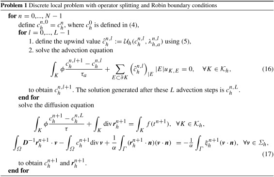 Space–time domain decomposition for advection–diffusion problems in