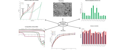 Assessing impact of formulation and process variables on in