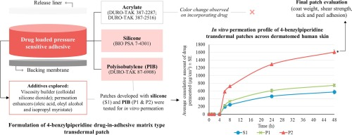 Formulation and evaluation of 4-benzylpiperidine drug-in
