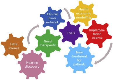 Early phase trials of novel hearing therapeutics: Avenues