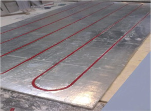 Sample Of Radiant Heating Wall Panel