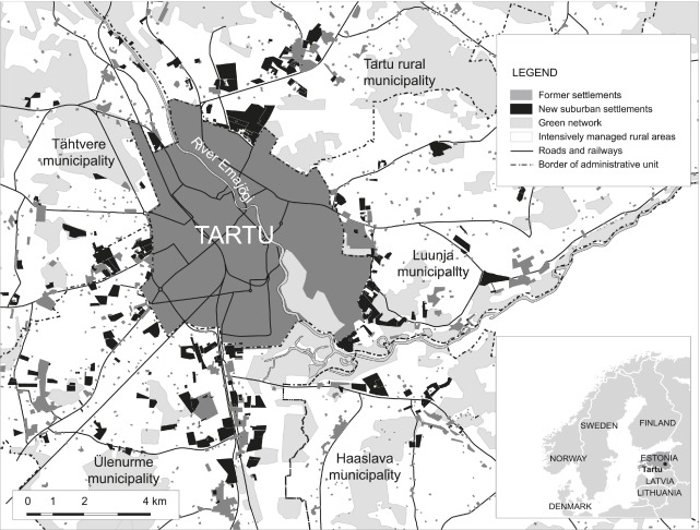 Assessing The Energy Intensity Of Peri Urbanisation A Master Plan