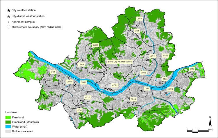 An archetype-in-neighbourhood framework for modelling