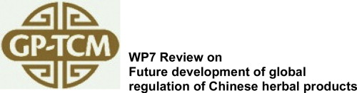 future development of global regulations of chinese herbal products