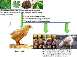 Acute and sub-chronic toxicity studies of three plants used