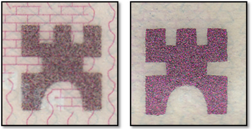 Image processing of false identity documents for forensic