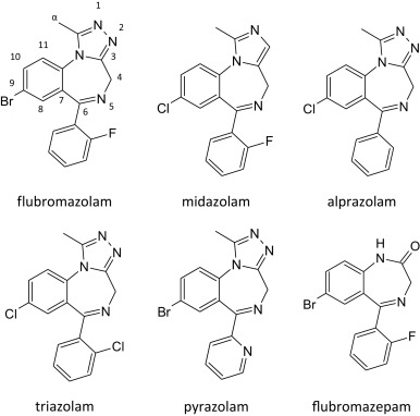 Looking at flubromazolam metabolism from four different angles
