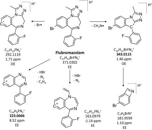 Looking at flubromazolam metabolism from four different