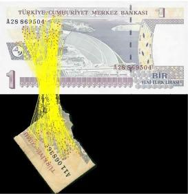 Shredded banknotes reconstruction using AKAZE points - ScienceDirect