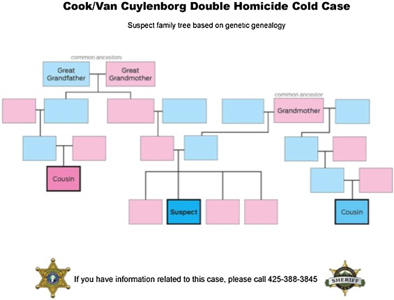 Genetic genealogy for cold case and active investigations