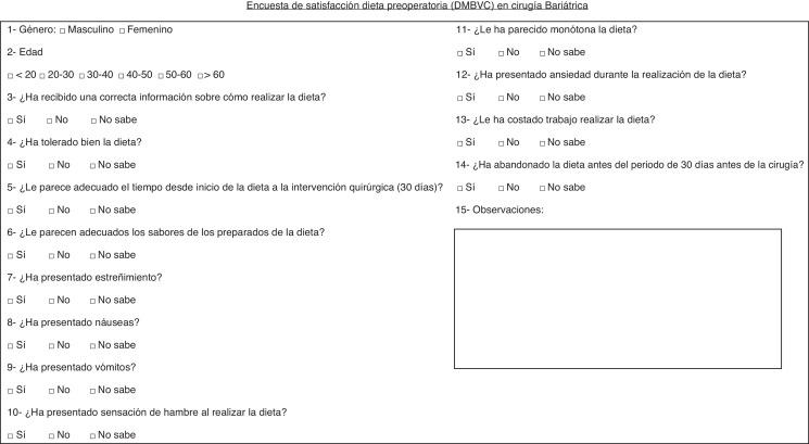 Dieta post cirugia bariatrica pdf