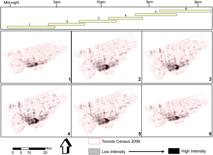 Spatial and temporal analyses of structural fire incidents