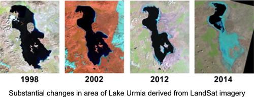 Aral Sea syndrome desiccates Lake Urmia Call for action ScienceDirect