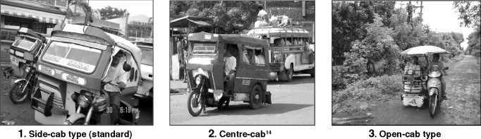 MOTORCYCLE-PROPELLED PUBLIC TRANSPORT AND LOCAL POLICY