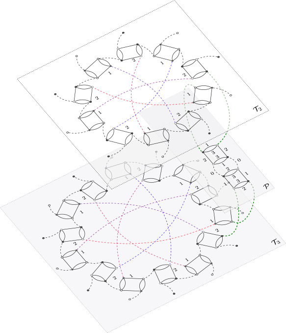 Surgery In Colored Tensor Models