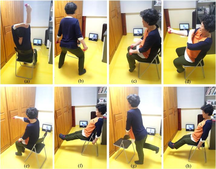 Effects of home-based tele-exercise on sarcopenia among