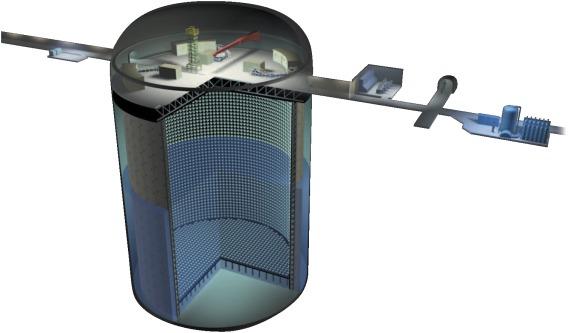 Image result for super k neutrino detector