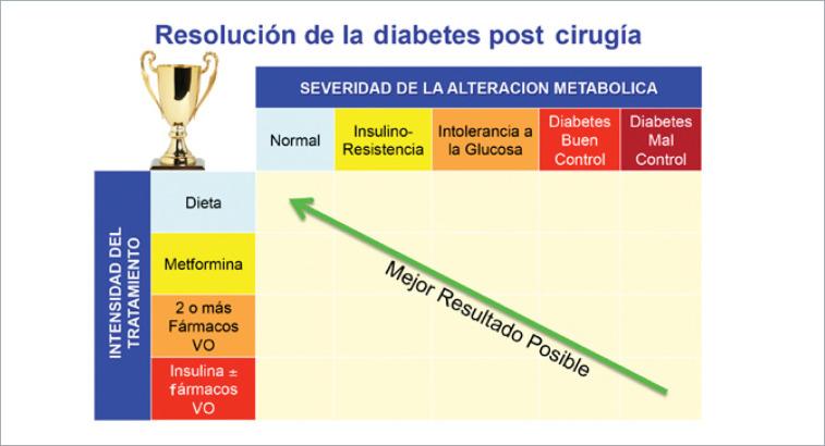 manejo de la diabetes mellitus tipo 2 y sus comorbilidades para la cirugía de pérdida de peso
