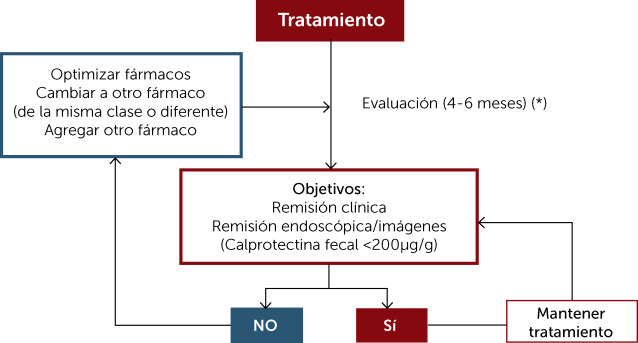 Algoritmos De Tratamiento De La Colitis Ulcerosa Desde Una Experiencia Local Sciencedirect