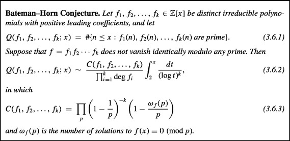 The Bateman–Horn conjecture: Heuristic, history, and
