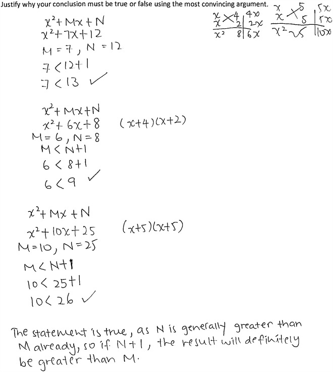 Students Proof Schemes For Mathematical Proving And Disproving Of
