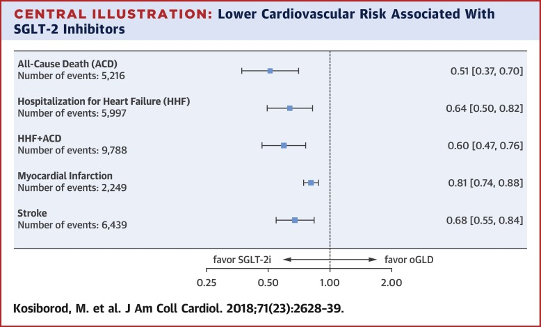 Cardiovascular Events Associated With SGLT-2 Inhibitors Versus Other