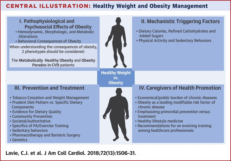 Healthy Weight And Obesity Prevention Jacc Health Promotion Series Sciencedirect
