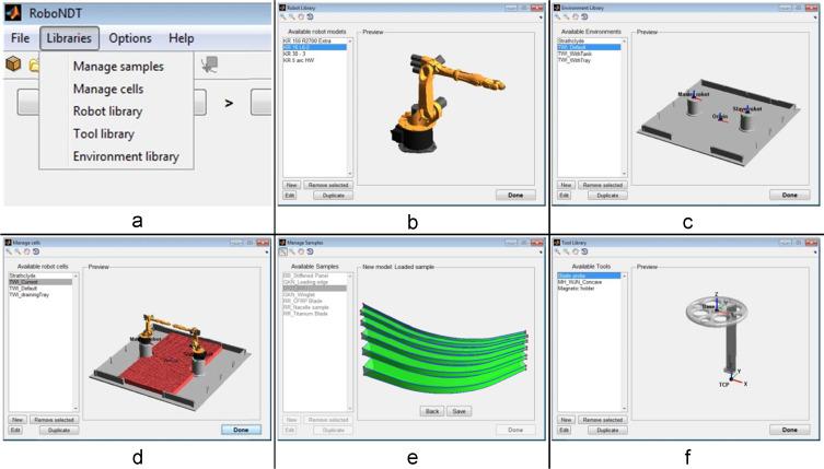 Robotic path planning for non-destructive testing – A custom