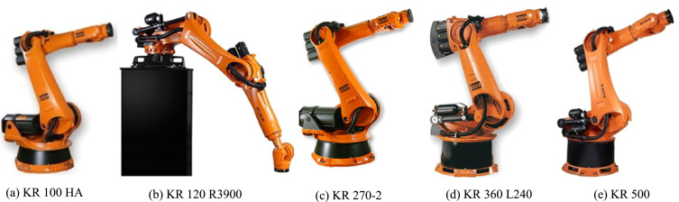 Efficiency evaluation of robots in machining applications