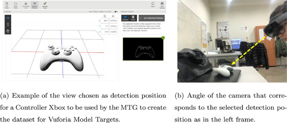 Augmented reality based approach for on-line quality assessment of