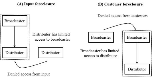 Mergers and acquisitions in TV broadcasting and distribution