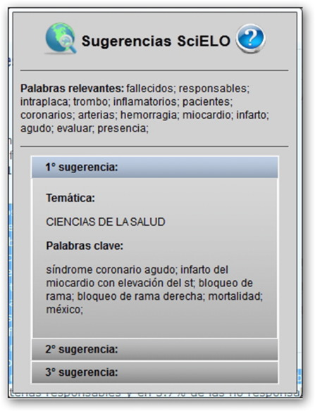 SciELO suggester: An intelligent support tool for cataloging library ...